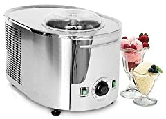 With the Musso Lussino frozen dessert maker, you can have delicious fresh desserts in minutes. These desserts not only include rich ice cream, but silky sorbets, Italian gelato, frozen yogurts, and refreshing frozen drinks.Fully automatic and...