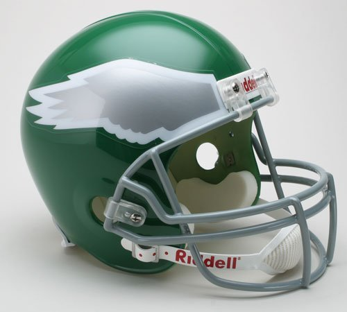 Victory Collectibles 30358 Rfr Tb Philadelphia Eagles 1974-95 Throwback Full Size Replica Helmet
