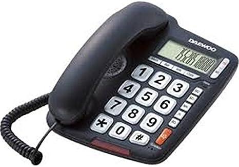 Daewoo M130200 - Telefono teclas grandes 0025 dtc700: Amazon.es: Electrónica