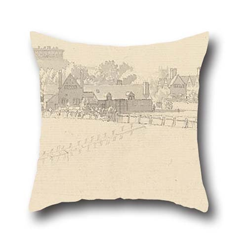 [The Oil Painting Paul Sandby - Nottingham Castle Pillowcase Of ,16 X 16 Inches / 40 By 40 Cm Decoration,gift For Her,lover,car,kids Boys,teens Girls,kids Girls (two] (Hipster Disney Princesses Costumes)