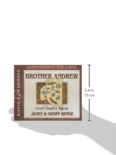 Brother Andrew Audiobook: God's Secret Agent (Christian Heroes: Then & Now)
