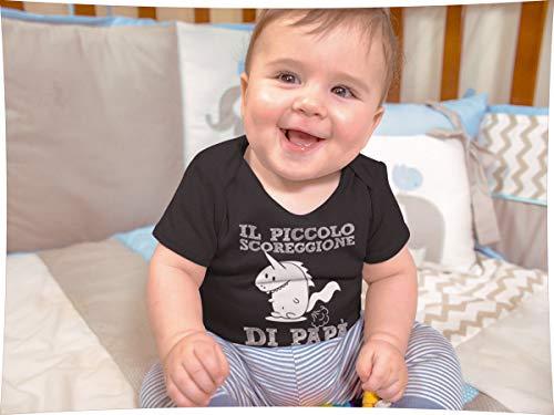 Scoreggione Papà Di Idea Piccolo Ll Maglietta Unisex Shirtgeil Neonato Divertente Navy Regalo aqnXS