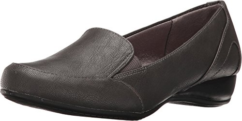 Life Stride Mujeres Disco Loafer Gris Oscuro