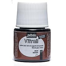 Pebeo Vitrail Glass Paint 45Ml Brown