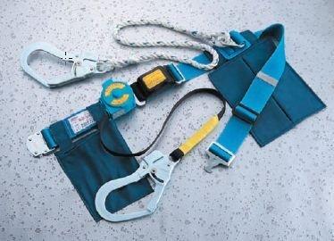 TOYO 一本つり専用 2wayローラップ巻取り式安全帯 NO.RU-201 紺 B01FEVZP5E  紺