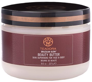 Vegan Moisturizer for Dry Skin, Face Butter Body Butter Belly Butter for Men and Women. Anti-Aging Skincare. Absorbs Quickly Non-Greasy. Brazil Nut Cupuacu Guarana Help Improve Elasticity and Firmness Fragrance-Free ()