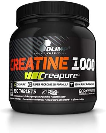 Olimp Creapure Creatine 1000, 2er Pack (2 x 300 Tabletten)