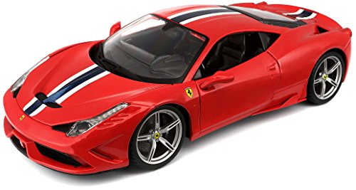 Bburago 1:18 Scale Ferrari Race and Play 458 Speciale Diecas