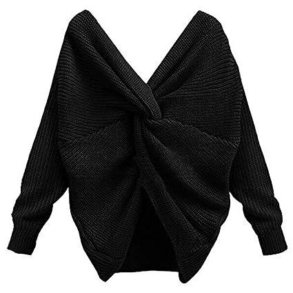 LanLan Suéter de Moda para Las Mujeres e1924a36d157