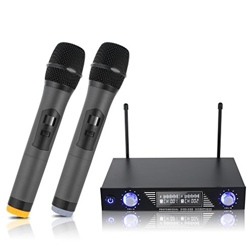 Uhf Dual Channel Wireless Microphone - 4