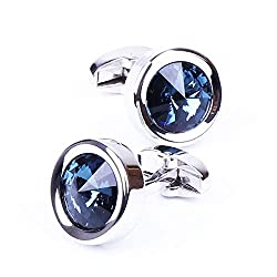 Men's Exquisite Crystal Cuff links