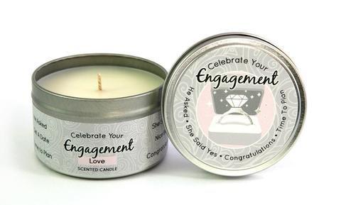 Celebrate Your Engagement Keepsake Candle 6.5 oz