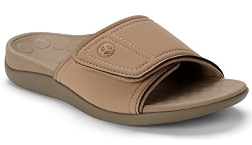 c5f7b9c9dc6a Orthaheel Men Women Kiwi Slide In Orthopedic Sandals - Tan (Mens 10 Womens  11