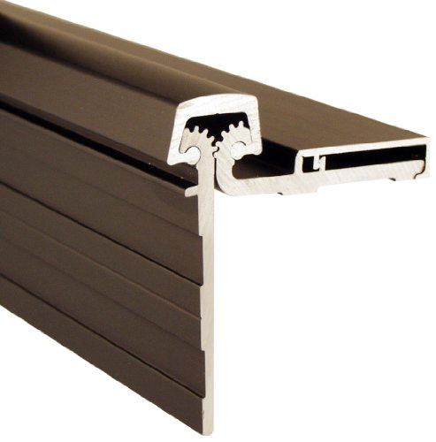 Pemko Heavy Duty Half Surface Hinge, Dark Bronze Anodized Aluminum, 95''L by Pemko