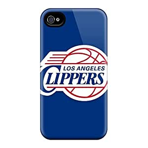 Perfect Hard Cell-phone Cases For Iphone 6plus With Unique Design Attractive Los Angeles Clippers Image CharlesPoirier