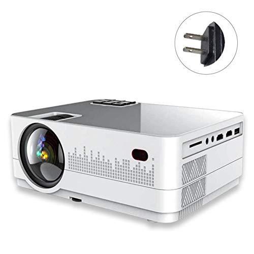 ROROFU Home Projector, Multimedia Portable Projector Q3 3D 70 Lumens Full HD 1080P Mini Projector LED Multimedia Home Theater USB VGA HDMI TV AV -