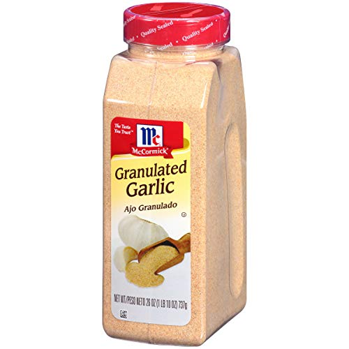 - McCormick Granulated Garlic, 26 oz