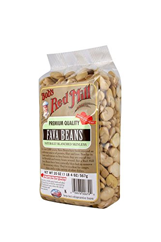 Bob's Red Mill Fava Beans, 20 Ounce (Pack of 4)