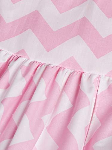 Baby Doll Bedding Chevron Dot Diaper Stacker, Pink