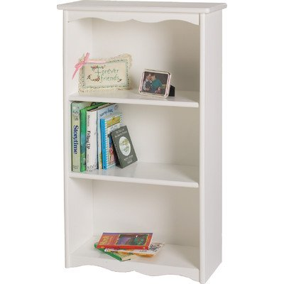 Little Colorado Traditonal Bookcase, Solid White
