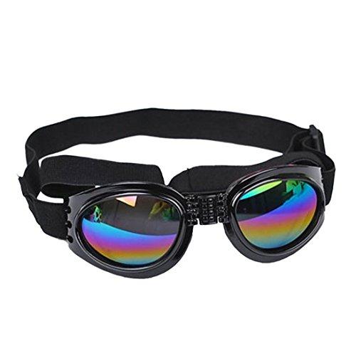 6b12a1138ba Dog Sunglasses Eye Wear UV Protection Goggles Pet Fashion Golden Retriever  Samoyed Sunglasses Goggles Big Dog