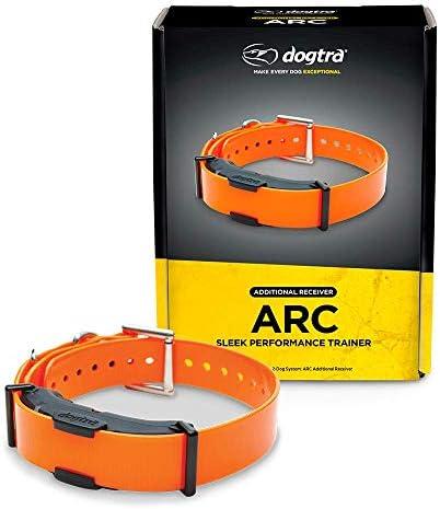Dogtra ARC Additional Receiver Slim Ergonomic 3 4-Mile Remote Dog Training E-Collar with 127-Level Precise Control via LCD Screen