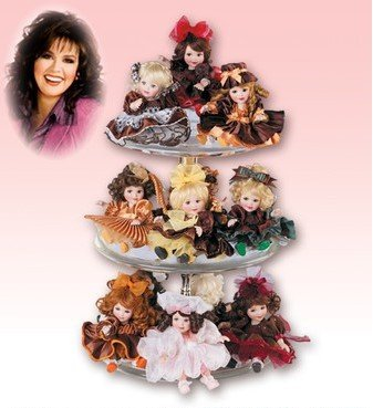 Marie Osmond Collectible Doll (MO Too Sweet Tiny Tots Display)