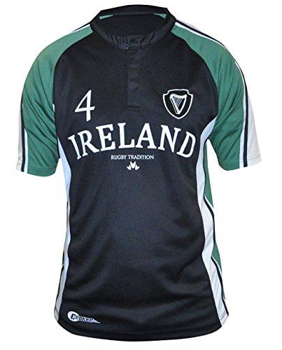 LFR Malham Siilky Sullivan Collection Short Sleeve Tartan Terror Rugby Jersey