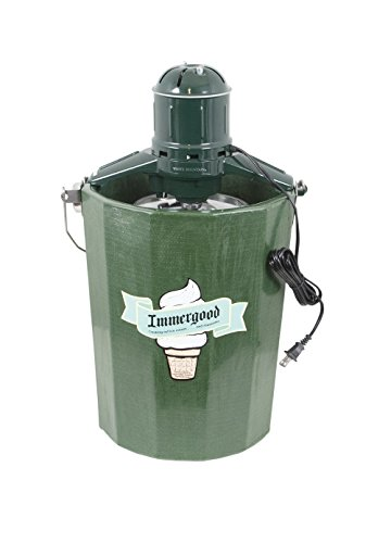 Electric - 6 qt. - Old Fashioned Ice Cream Maker w/Motor (Ice Cream Freezers 6 Quart)