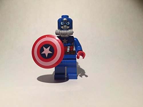Lego Minifigure   Space Captain America  No Packaging