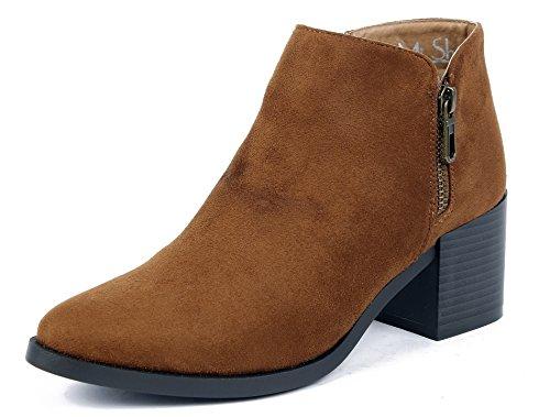 Femmes Su Talon Bottines Ageemi Shoes BqpXXw