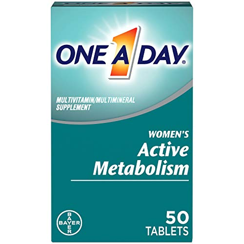 One A Day Women's Active Metabolism Multivitamin, Supplement with Vitamin A, Vitamin C, Vitamin D, Vitamin E and Zinc…