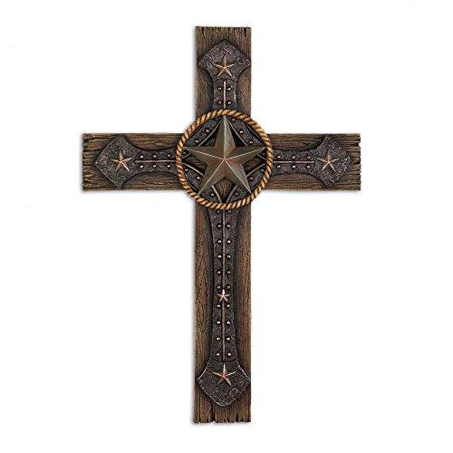 Koehler 15026 13.25 Inch Rustic Cowboy Wall Cross (Cross Rustic Wall)