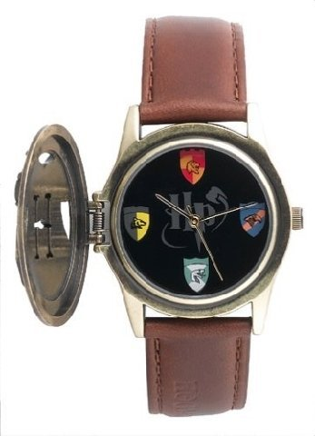 Harry Potter Flip-Top Watch With Hidden Hogwarts House Crests HC0003 by Harry Potter