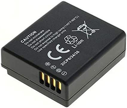 batería de repuesto 750mah Batería 2x para Panasonic Lumix dmc-tz101