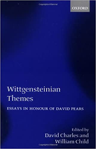 com wittgensteinian themes essays in honour of david  wittgensteinian themes essays in honour of david pears 1st edition