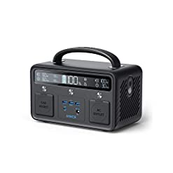 Anker PowerHouse II 400, 300W/388.8Wh Portable Power Station, 230V AC Outlet/60W USB-C Power Delivery Portable Generator… Health and Household