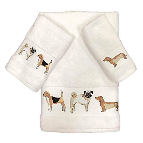 41vO si5sfL - Avanti Dogs On Parade Bath Towel