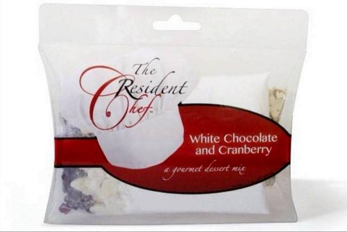 The Resident Chef *White Chocolate & Cranberry* Gourmet Dessert Mix to Make Cheese Ball, Pie, or Dessert Spread