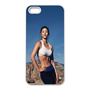 iPhone 4 4s Cell Phone Case White he31 sexy kpop star yoo FY1450531