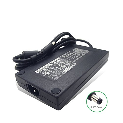 HP 200W AC Adapter Replacement For:HP Hewlett Packard EliteBook 8560w, 8570w, 8740w, 8760w, 8770w , ZBook 17, 100% Compatible with HP P/N:HSTNN-CA16, HSTNN-DA16, ADP-200CB BA, 609945-001, 608431-002 by for HP (Image #1)
