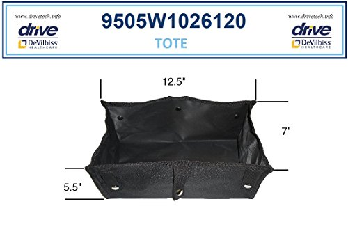 Tote For 4-Wheel Rollator 728-RTL, R726 and R728 -  Drive Medical, 9501S72608