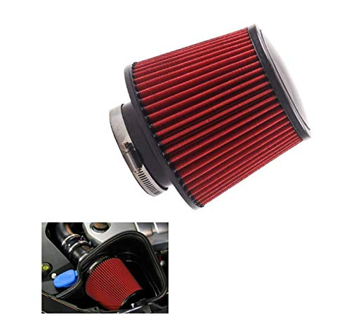 Car air filter universal cold air filter engine air intake filter auto Air Filter Mini oil filter sport air filter Mushroom Head Air Filter high-performance air filter 76mm air filter cold air intake:
