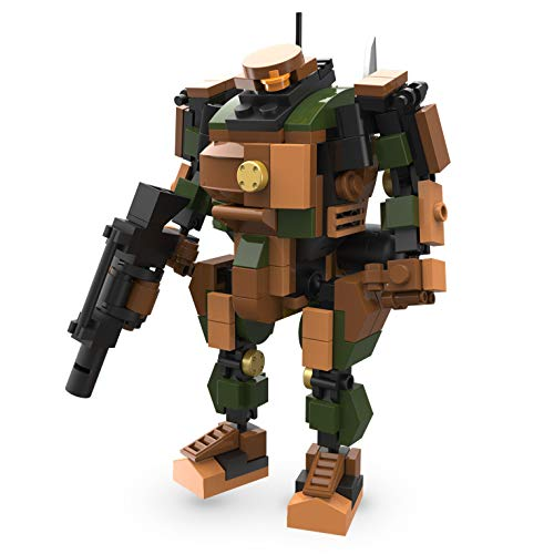 MyBuild Mecha Frame Robot Bricks Construction Blocks Toy Figure Sci-Fi Series (Sergeant 5011) Build Sci Fi Model