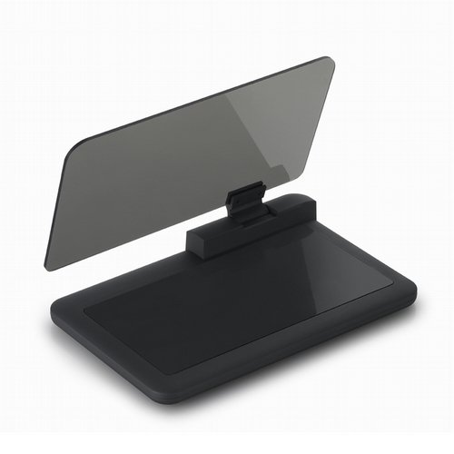 Dlibuy Head Up Display Holder, Max 6 Inches HD Reflector for