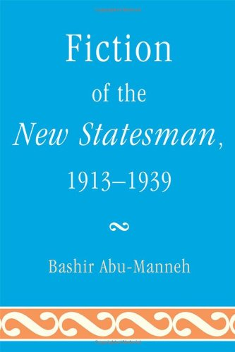 Download Fiction of the New Statesman, 1913-1939 pdf