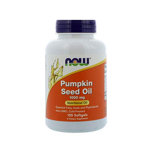 (NOW Pumpkin Oil 1000 mg,100 Softgels)