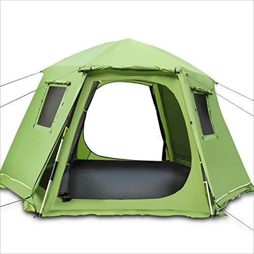 YuFLangel Im Freien Hexagon-automatisches großes Zelt-Doppeltes Bau-schnelles Wasserdichtes freies Bau-schnelles Zelt-Doppeltes Öffnungs-Zelt Beach Tent ca7ccb