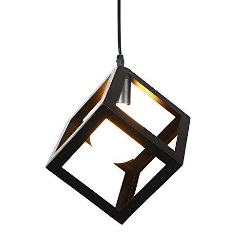 AWAMA Vintage Metal Industrial Pendant Lamps Cafe Pendant Lighting Kitchen Restaurant Fixture 160 160mm E27 1 40W for Living Room Bedroom Dinning Room