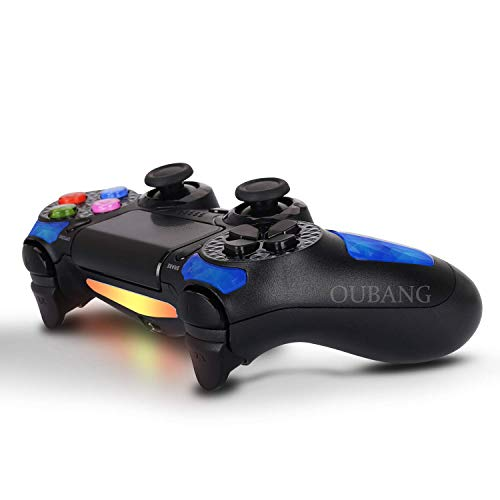 (PlayStation 4 DualShock 4 Controller - OUBANG PS4 Controller Wireless Remote Control with Sixaxis (Sapphire))
